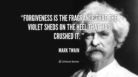 MarkTwain Forgiveness